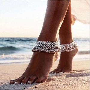 Gypsy Tibetan Silver Bell Anklet Boho Bracelet New